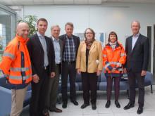 Marit Paulsen besöker Helsingborgs Hamn för att lyfta upp exportfrågor på den politiska agendan