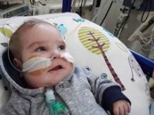 ​Friend fundraises for Baby Caleb who waits for heart