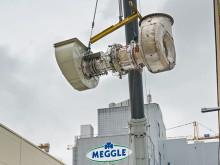 Bayernwerk Natur modernisiert Gasturbinen-Anlage bei Meggle