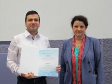 Preis des Deutschen Akademischen Austauschdienstes (DAAD) 2016 an kolumbianischen Masterstudenten der Technischen Hochschule Wildau