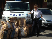 Bags of cannabis found in Twickenham street