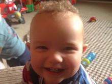 Thankful parents raise £4,000 for Sick Children's Trust