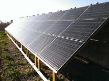 Solenergin har ökat kraftigt i Skåne under 2014