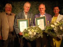 Kungliga Patriotiska Sällskapets trädgårdsmedaljörer 2015