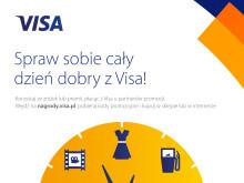 """""""Spraw sobie cały dzień dobry z Visa!"""" – nowa promocja płatności bezgotówkowych"""