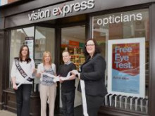 Whitstable eye cancer survivor officially opens doors to new local Vision Express store