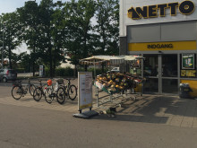 Oplad elbilen hos Netto i Frederikssund