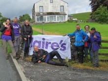 Staff at Claire's Europe climb to fundraising success for the Stroke Association