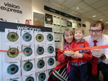 New vision for Edinburgh opticians, as Vision Express unveils two new stores