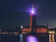 The Stockholm City Hall is one of seven buildings in Osrams Lightify project