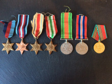 Appeal after WWII medals stolen