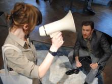 Stina Oscarson bjuder in till fredsteaterfestival på Uppsala slott