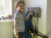 DIY – Gjut en barnvänlig hängare