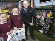 Langholm pupils get set for a superfast boost