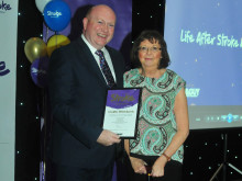 ​Whickham stroke survivor receives regional recognition