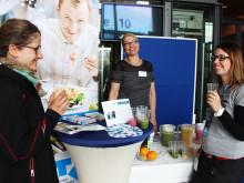 """Gesundheitsaktion zur 17. Firmenkontaktmesse TH CONNECT am 3. November 2016 vermittelt Wissenswertes rund um das elementare Thema """"Trinken"""""""