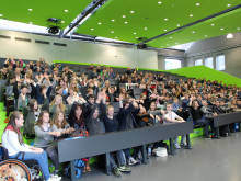 225 Brandenburger Schülerinnen und Schüler beim Zukunftstag an der Technischen Hochschule Wildau