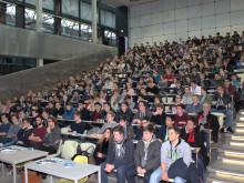 Mehr als 300 Schülerinnen und Schüler beim 5. Fachtag Informatik am 26. Januar 2016 an der Technischen Hochschule Wildau