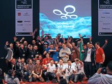 Team der TH Wildau erfolgreich beim Dronemasters FPV-Cup auf der CeBIT 2016 / Ministerpräsident Woidke am TH-Stand in Halle 6