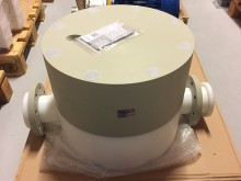 Massive pulsation dampener PT ready for shipment to end-user
