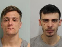 Two men jailed following burglary spree
