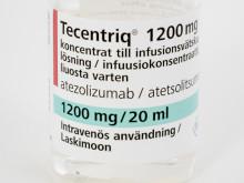 Nya positiva studieresultat för avancerad lungcancer;  Tidig kombinationsbehandling med immunterapi gav 38 procent minskad risk för förvärrad sjukdom.