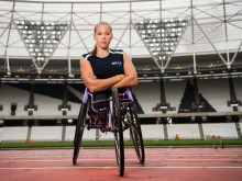BT Ambassador Hannah Cockroft returns to former Olympic Stadium ahead of National Paralympic Day