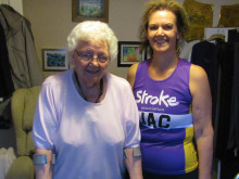 Kidderminster physiotherapist tackles Resolution Run inspired by mum