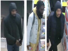 Three men sought re Hackney robberies