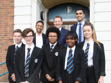 Back to school for BT board member in Leicester as he inspires college students
