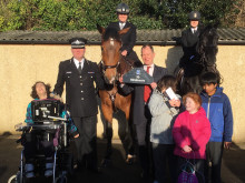 New police horse named after school