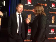 Peter Forsberg blir intevjuad av Erik Ekstrand , Idrottsgalan 2016