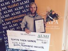 Student är Jämtlands kandidat till Framtidens innovatör