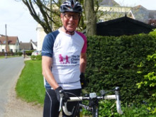 Grandad to cycle 100 miles to thank The Sick Children's Trust