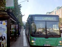 Flera busslinjer flyttas vid Helsingborg C den 20 september –ombyggnaden på Järnvägsgatan fortsätter norrut