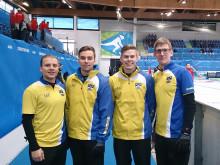 Svenska curlingherrarna klara för final i Universiaden - studentidrottens motsvarighet till OS