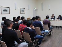 Studierende der Deutsch-Emiratischen Hochschule für Logistik Abu Dhabi zu Auslandssemester an der TH Wildau und der Jade Hochschule Elsfleth