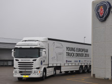 """Scania """"Young European Truck Driver"""" chaufførkonkurrence"""