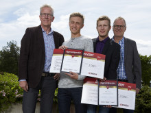 Stolta Bygmastipendiater på Sundsvalls gymnasium
