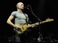Sting-koncert på havnefronten i Helsingør