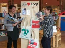 Läs ♥ högt på alla folkbibliotek i Göteborg - högläsningspåsarna är på plats