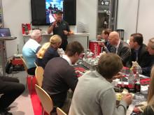 Automässan dag 1: EM-mästaren Micke Kågered och Crew Chief Göran Edman