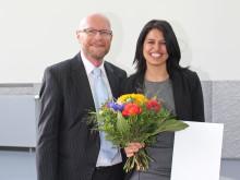 Preis des Deutschen Akademischen Austauschdienstes (DAAD) 2015 an Masterstudentin der TH Wildau aus Griechenland