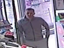 CCTV APPEAL:  Man wanted in connection with snatch theft in shop