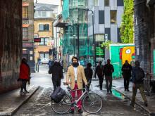 Emailande ringklocka i kampanj för cykelsäkerhet vann pris