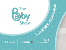 For Picture Perfect Baby Photos Visit Panasonic at The Baby Show, Olympia, London