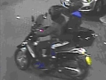 Image of men police wish to trace