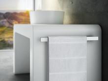 Handduksstång för tvättställsskåp