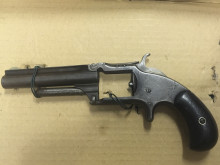 Recovered firearm [1]