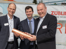 ZÜBLIN lays foundation stone for Elbterrassen II residential project in Geesthacht